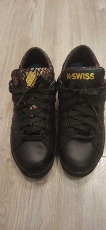 K-Swiss Lozan III TT , dla dzieci, buty sneakers, Czarny