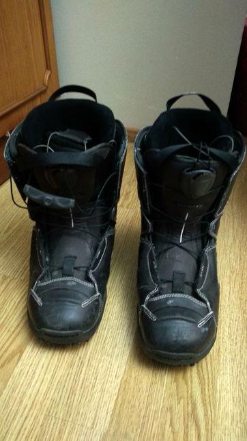 Ботинки для сноуборда. Salomon.