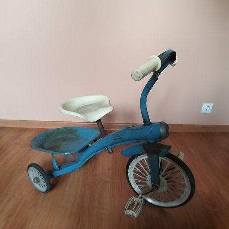 Rowerek wywrotka zabytkowy prl kolekcjonerski lata '60 azak
