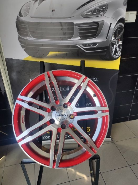 Felgi Aluminiowe ASA 18'' NOWE!!! 5x114,3 Honda, Hyundai, Toyota Kozy - image 1