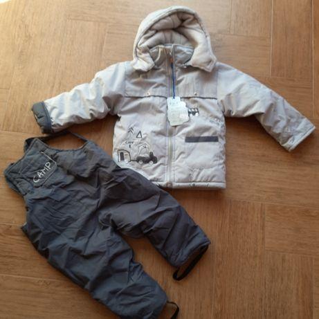 Komplet zimowy (kurtka plus spodnie) 104-110