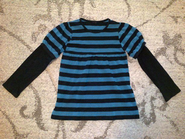 tunika bluzka dziewczęca 122 128 brokatowa