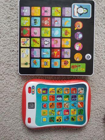 Tablet interaktywny 2 sztuki stan bdb zabawki edukacyjne