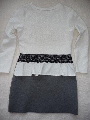 Sukienka z baskinką 158