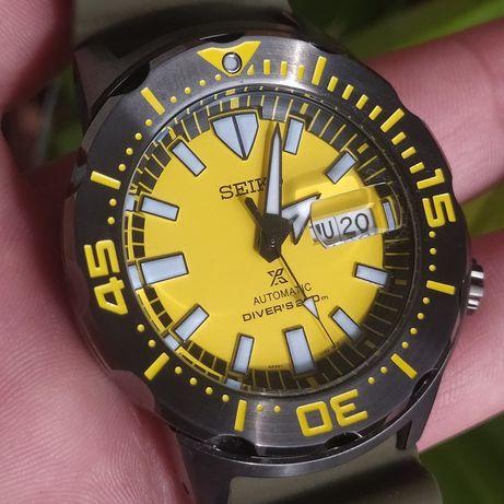 *NOVO* Relógio Seiko Monster SRPF35K1 (ÁSIA special edition)