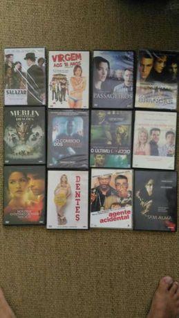 Coleção de filmes DVD originais novos