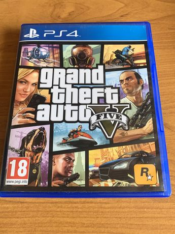 PS4 GTA V Stan Idealny 5