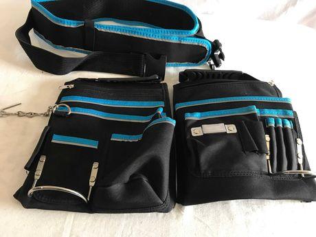 Ремінь пояс з подвійною сумкою для інструментів Mac Allister