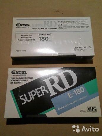 Новые видео кассеты Exel RD Made in Japan