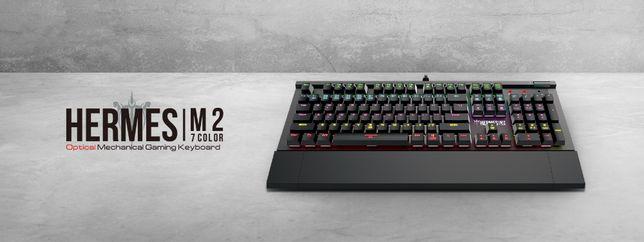 Оптико-механическая клавиатура GAMDIAS Hermes M2 (игровая)