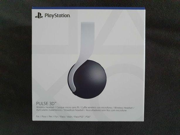 Playstation 5 Headset Pulse 3D PS5 nowe słuchawki