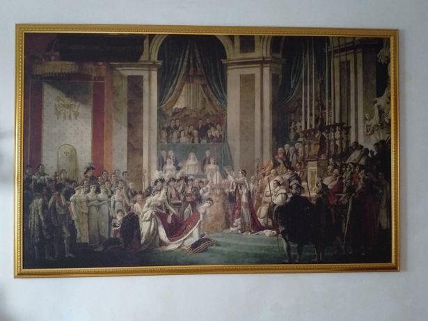 """Огромная репродукция картины Жака Луи Давида """"Коронация Наполеона"""""""