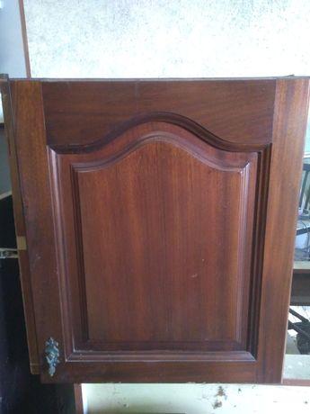 Portas de madeira móvel cozinha