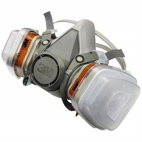 Maska lakiernicza 3M półmaska 6200 KOMPLET ZESTAW