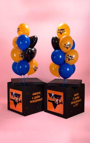 Коробка сюрприз для воздушных шариков