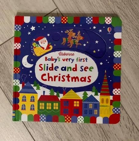 Slide and seek - Baby's very first Christmas book