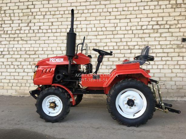 Трактор Булат 160 PLUS+фреза 125 +2х плуг,Мототрактор,Міні трактор.