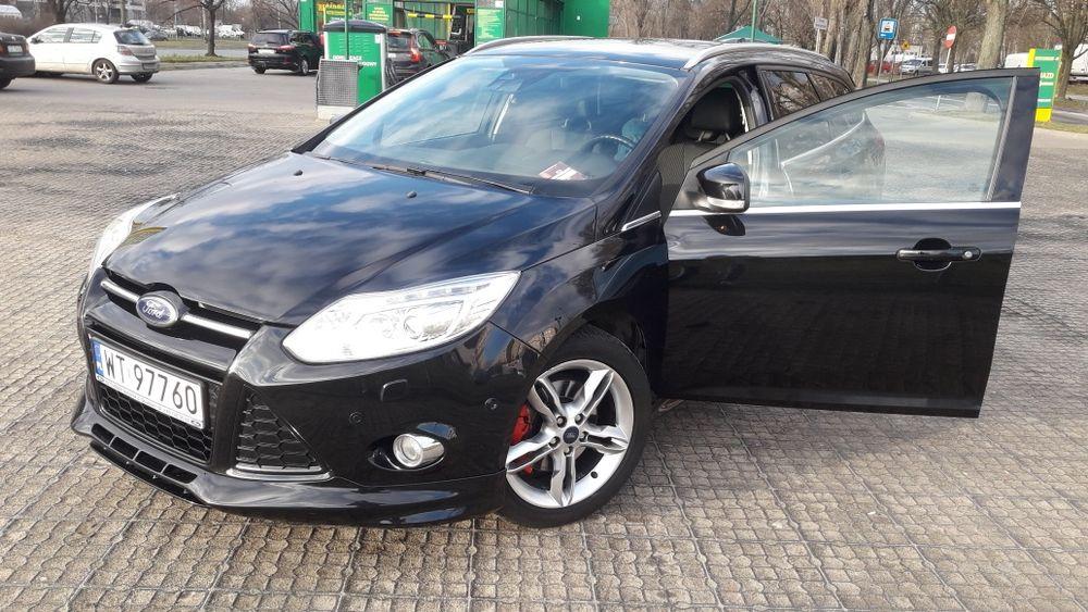 Sprzedam Forda Focusa titanium 2013r 1.6 ecoboost 182KM b/g Warszawa - image 1