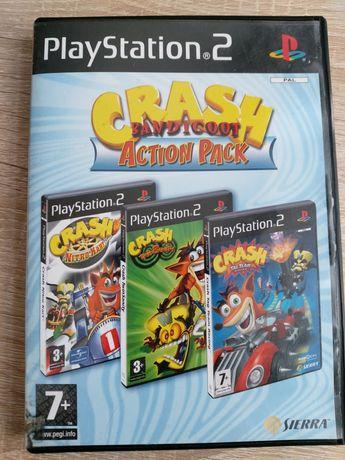 Crash Bandicoot action pack PlayStation 2
