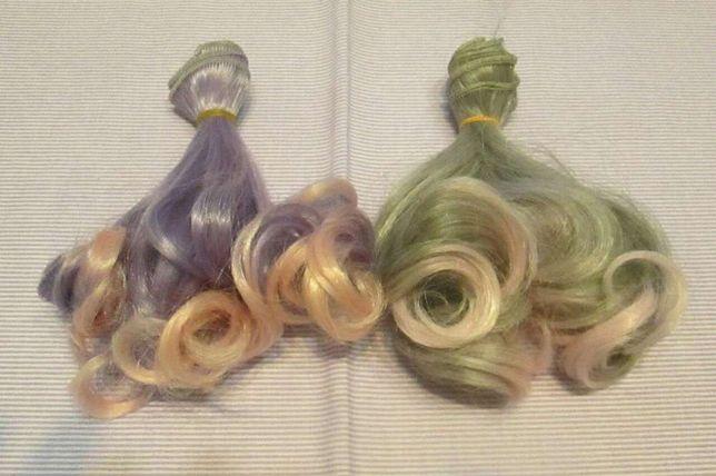 Локоны, волосы, тресы для изготовления кукол