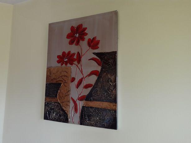 Obraz na ścianę stan bdb 80x60