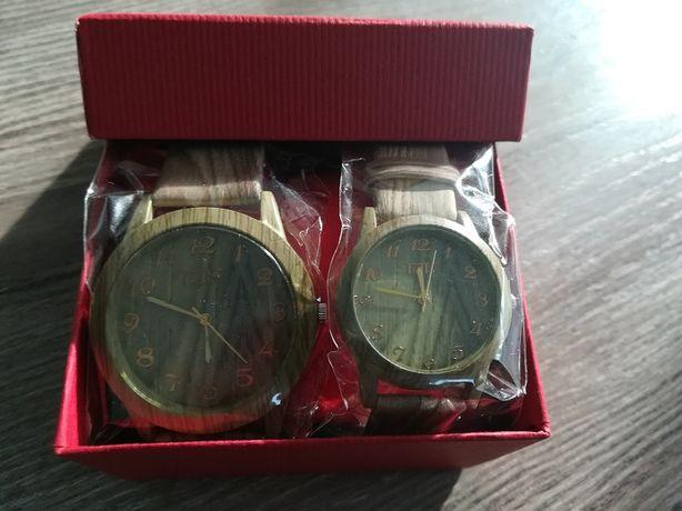 Zestaw prezentowy - zegarek damski i męski z Singapuru firmy Beller