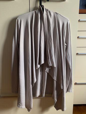 Elegancka bluza narzutka beżowa S 36 Street One