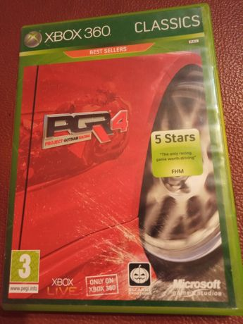PGR 4 xbox 360 Project Gotham Racing 4