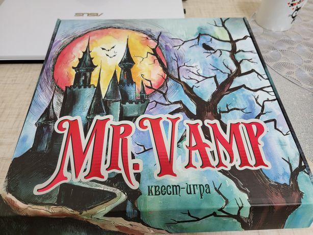 Игра настольная Mr vamp квест-игра