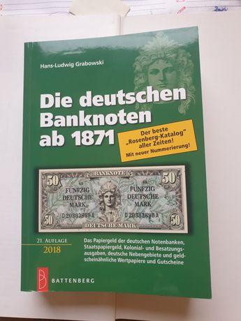 Katalog  niemieckich banknotów