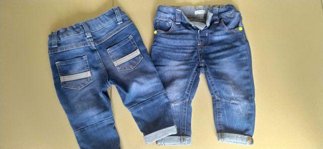 Rurki jeansowe rozm. 74 BLIŹNIAKI