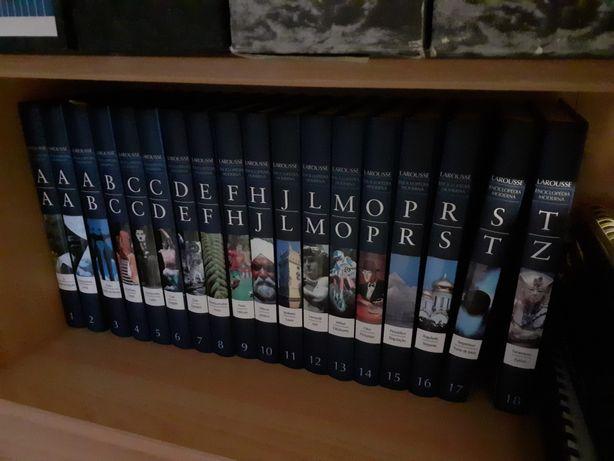 Enciclopédia completa Larousse com envio
