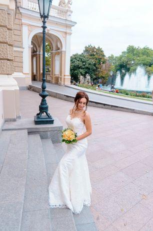 Свадебное платье,  весільна сукня, рыбка