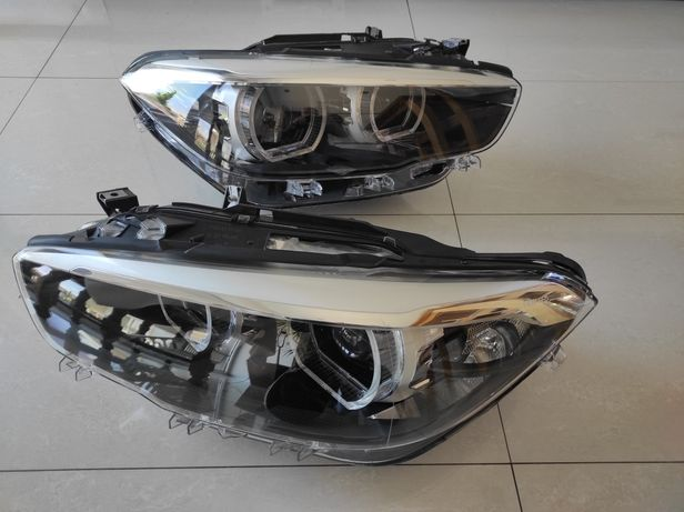 Farol BMW f20 full led black