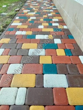 Укладка/мощение тротуарной плитки