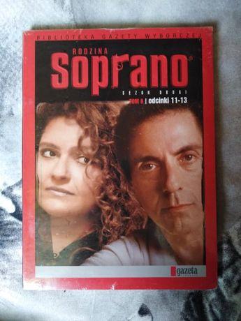 Rodzina Soprano DVD NOWY zafoliowany