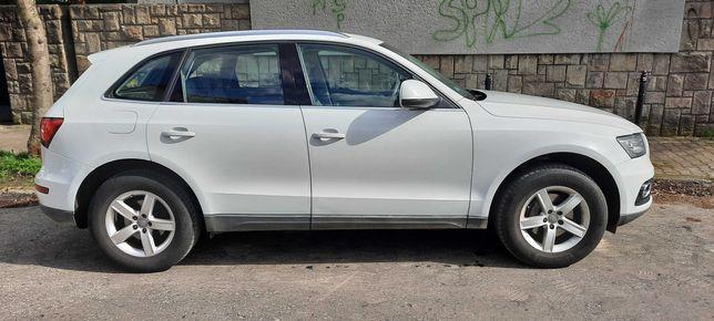 Audi Q5,  2.0 TDI Quatro (napęd 4x4) 177KM, przebieg 123000 km