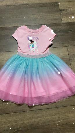 Нарядное платье george carters hm 2-3 года