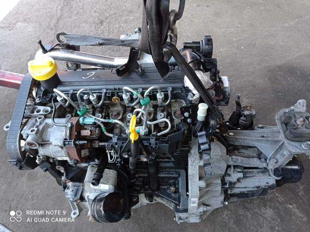 мотор двигатель  Renault Kangoo 1.5 dCi  K9K 800 63 кВт 86 л.с.