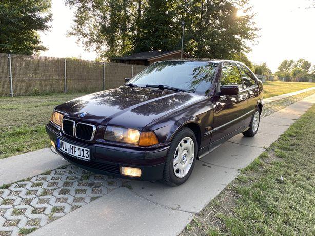 BMW e36 Compact 1997 rok! 1.6 benzyna 102 KM 183 ty. km! Klima!