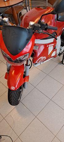 Gilera dna 50cc excelente de mecanica troco por 125
