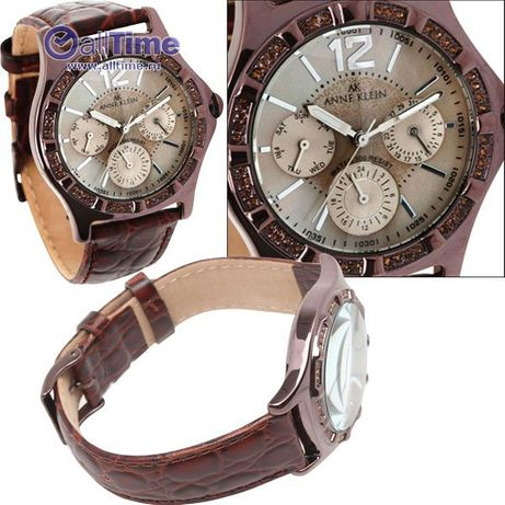 Unikatowy Zegarek Damski ANNE KLEIN 8305 BMBN-USA!