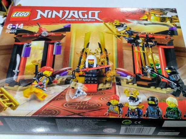 LEGO ninjago 70651 starcie w sali troniwej