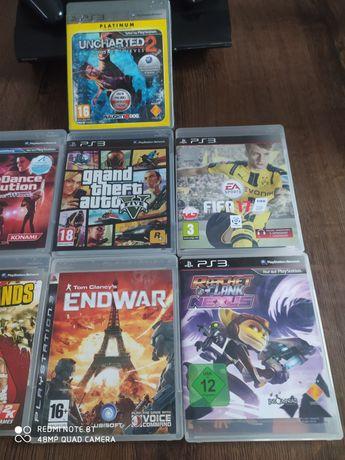 Sprzedam PS3 z dodatkowo dokópioną pamięcią
