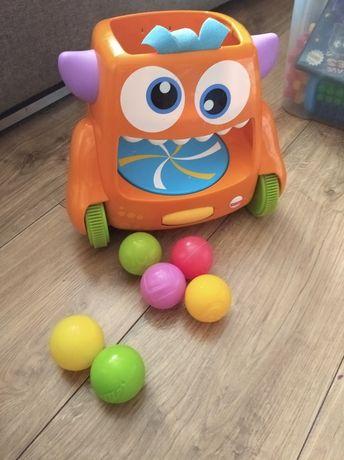 Zabawka dla dziecka -Stworek kręciołek