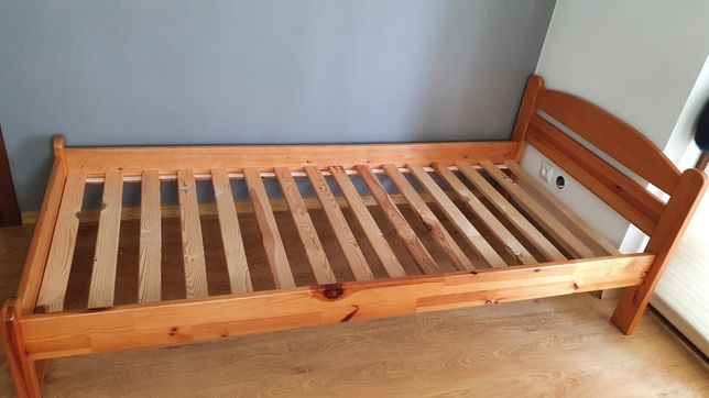 Łóżko sosnowe 90x200