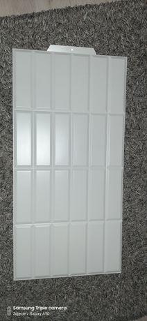 Płytki kafelki imitacja cegły białej 4szt.