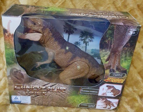 Dinozaur T-REX Interaktywny Chodzi Ryczy Duży