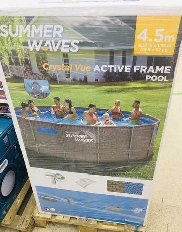 Каркасный бассейн Summer Waves 457х132 см