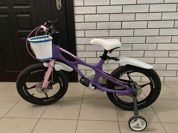 Велосипед для девочки 3-6лет